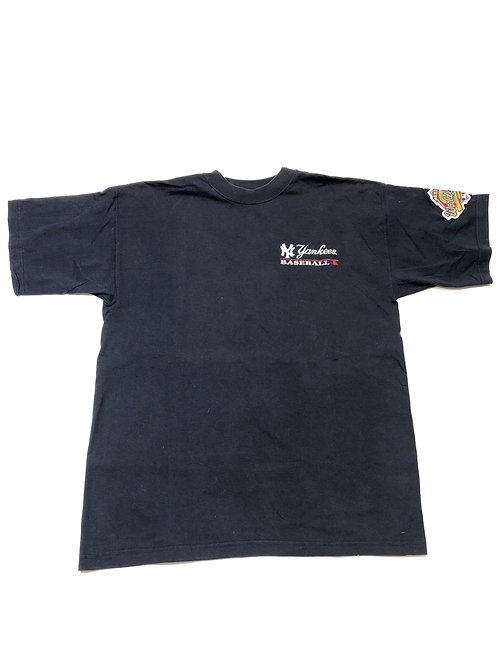 Vintage Majestic 1996 Patch Yankee Tee