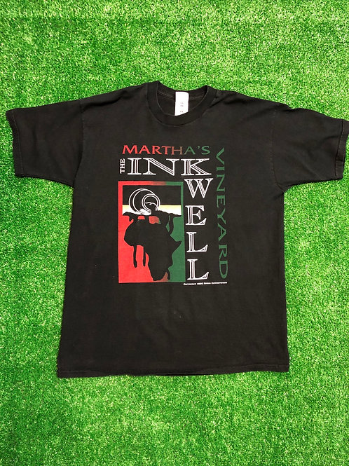 Vintage 1992 Martha Vineyard inkwell tee