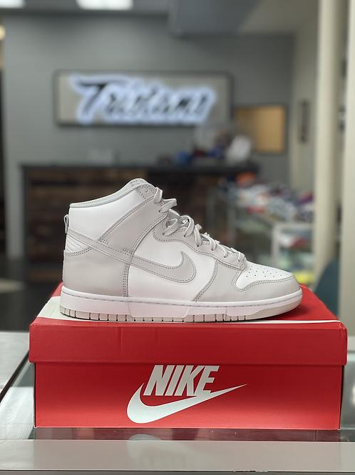 Nike Dunks  Hi Grey/White