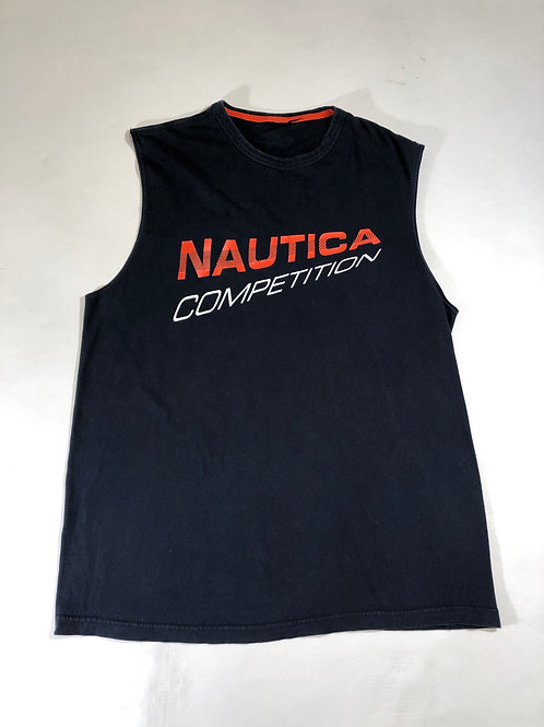 Nautica Competition Cut off sleeve tee