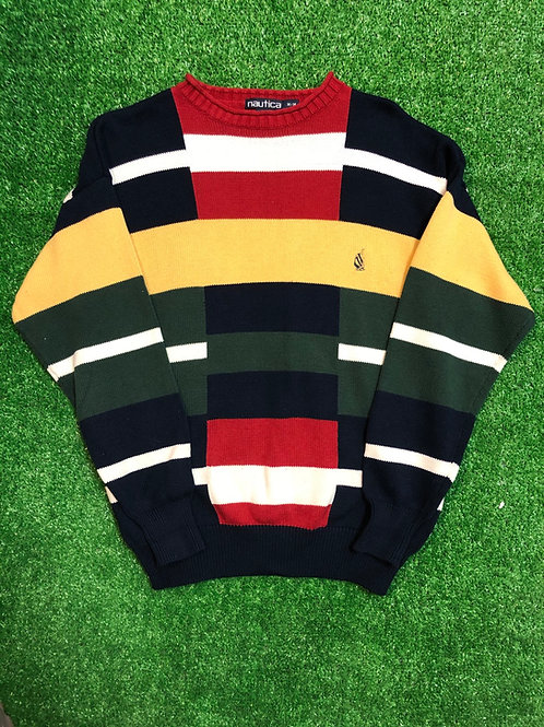 Nautica sweater / slight hole on neck