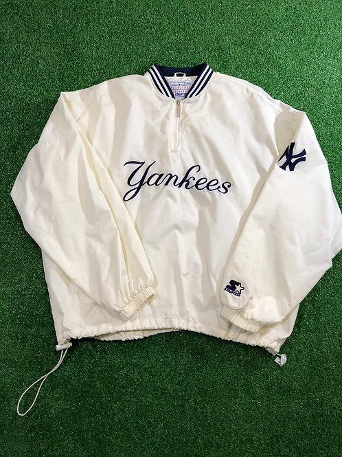 Vintage Off-White Yankee Starter Jacket