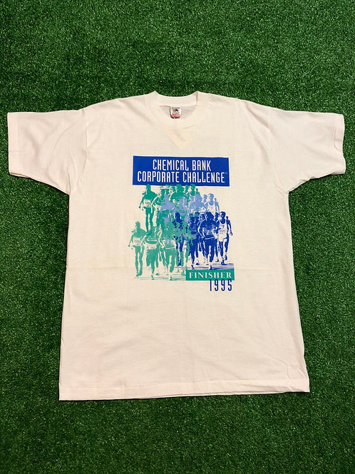 Vintage 1995 Single Stitch Chemical Bank Challenge