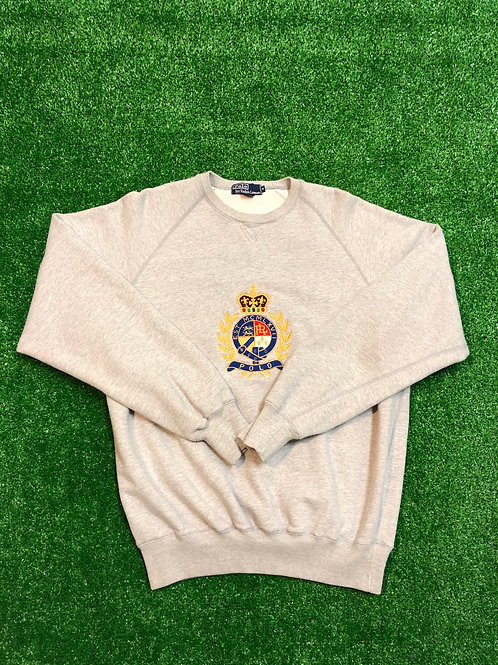 Vintage Polo Crown Sweat Shirt