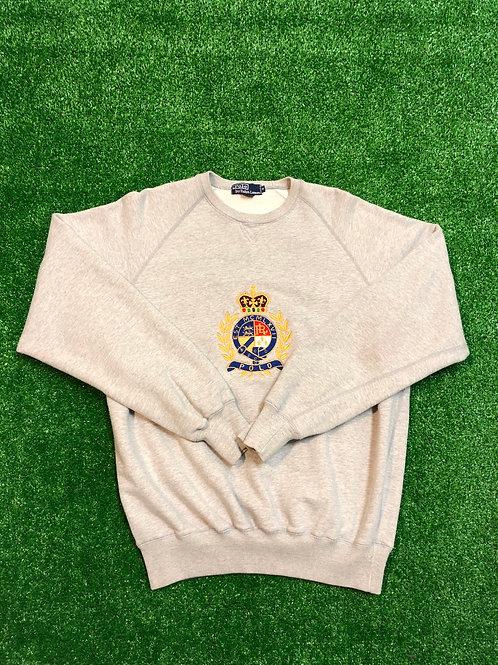 Vintage Polo Crown Sweat Shirt