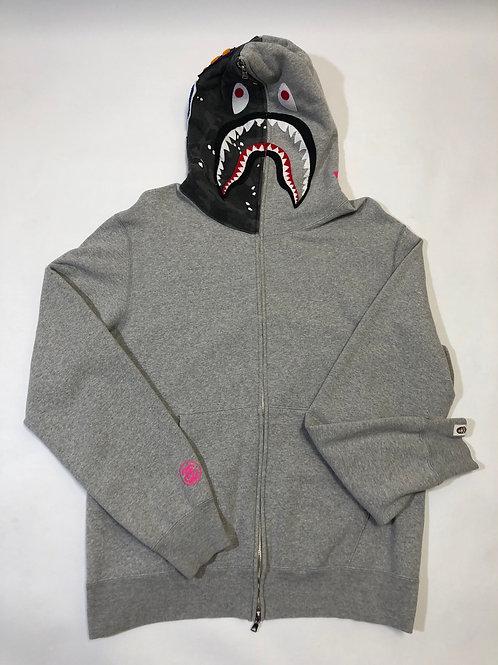 Vintage Bape x stussy hoodie Pre Owned