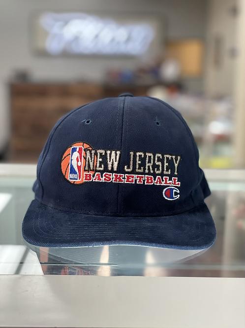 Official NBA NJ Net Champion Snap Back