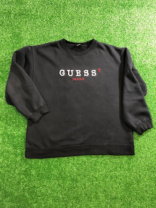 Vintage Guess Jean Sweat Shirt