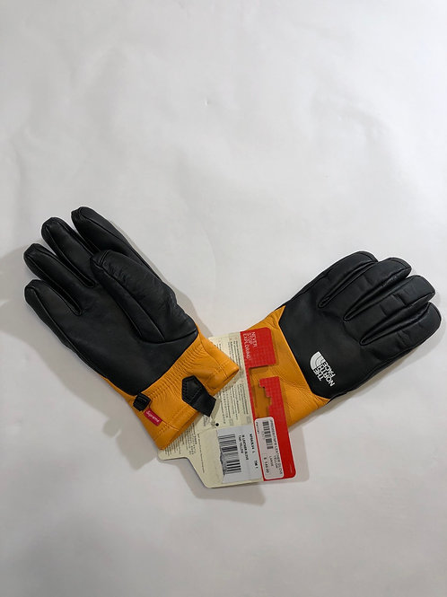 Supreme Northface Leather Gloves