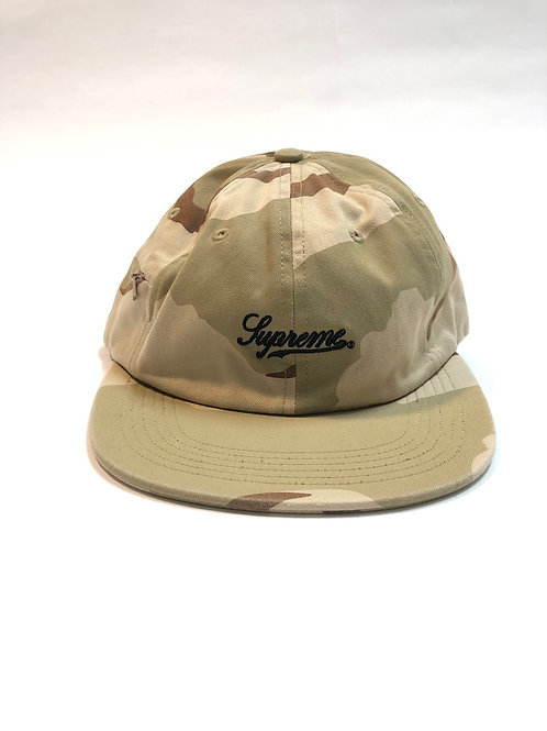 Supreme Camo Zip Cap
