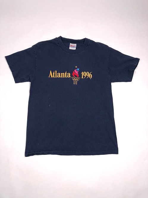 Vintage Blue Atlanta 1996 Olympic tee