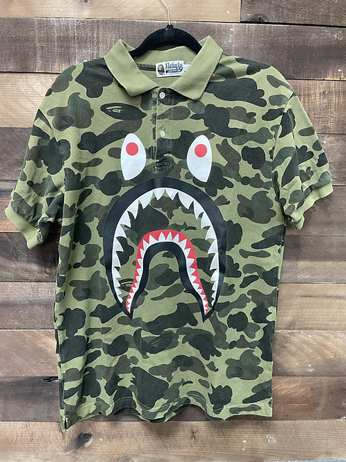 Bape Shark Polo Shirt