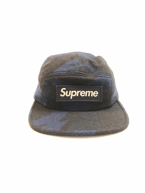 Supreme Camo Wool Cap