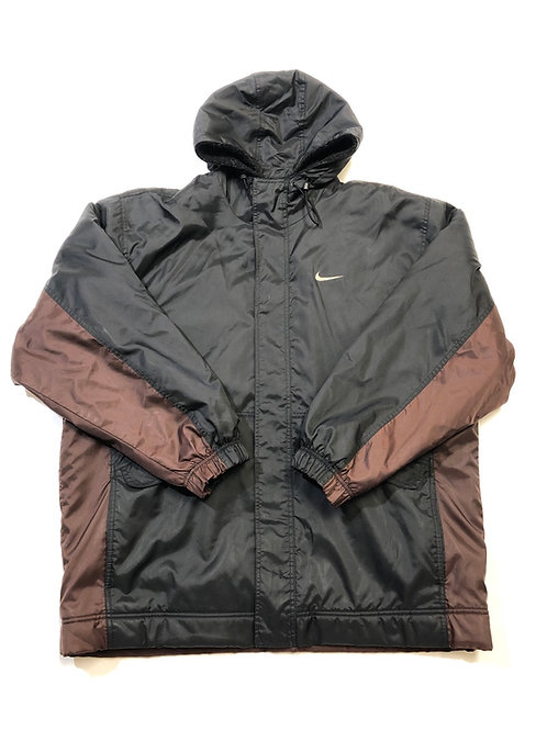 Vintage Nike Puffy Coat with Sherpa Lining