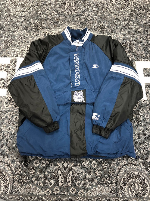 Vintage UConn Huskies Starter Jacket