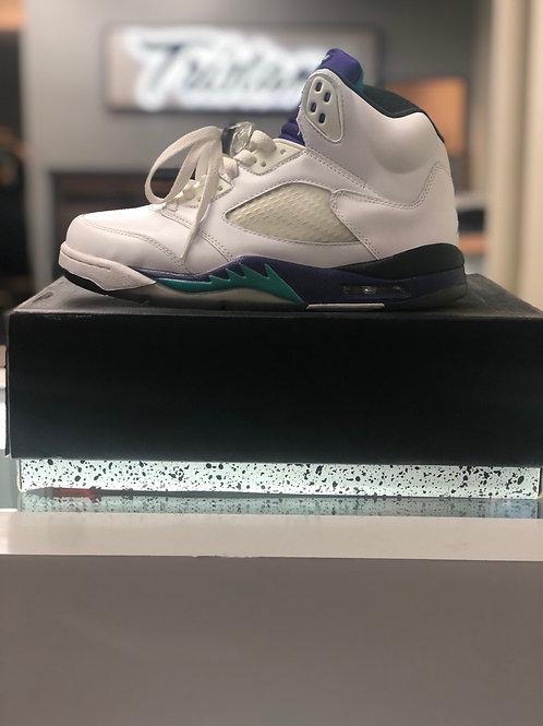Air Jordan 5 grapes