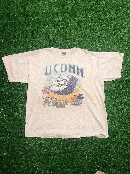 Vintage UConn Huskies tee