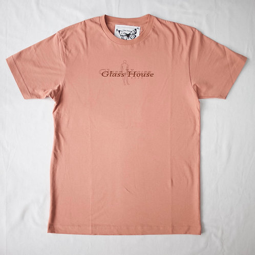Shallow Man Tee Dusty Pink