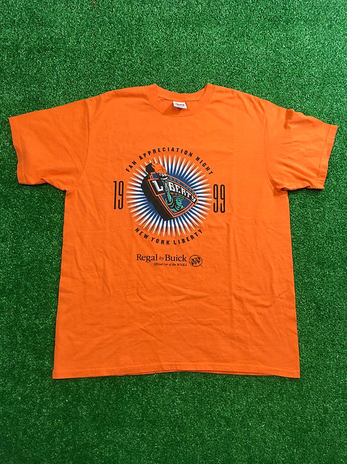 Vintage 1999 New York liberty Tee