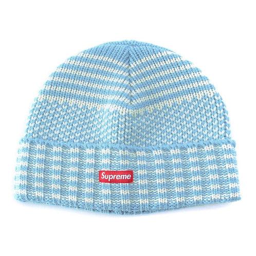 Supreme wool jacquard hat
