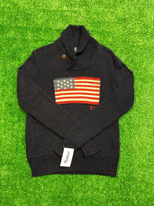 Vintage Polo Flag Sweater