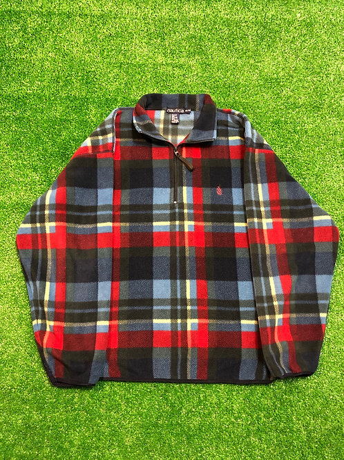 Vintage Flannel Nautica Fleece