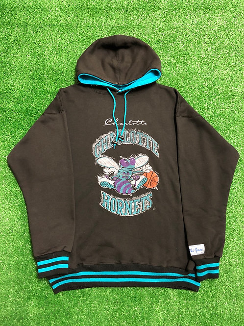 "Vintage Charlotte Hornets Hoodie ""The Game"""