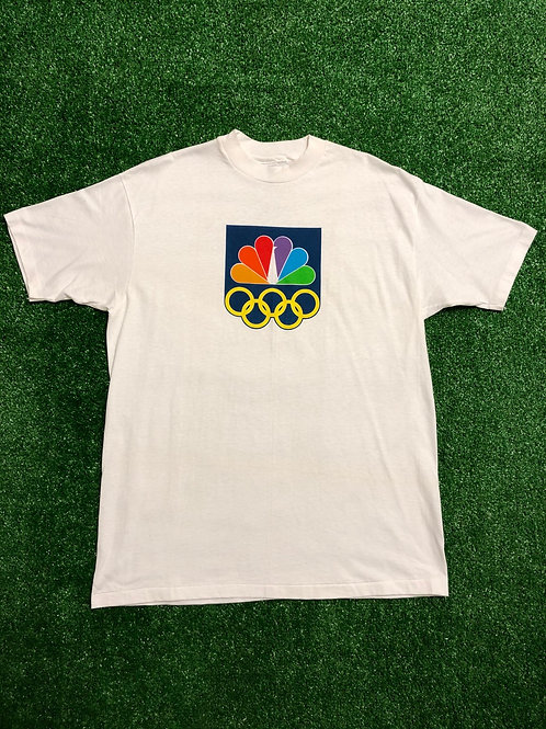 Vintage Single Stitch 1988 NBC Olympic Tee