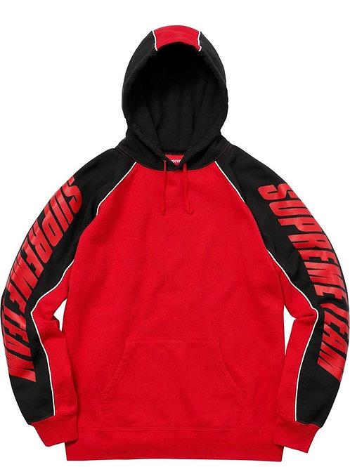 Supreme GT racer hooded sweatshirt