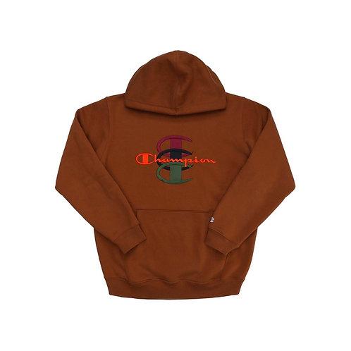 Supreme x champion hoodie sweatshirt