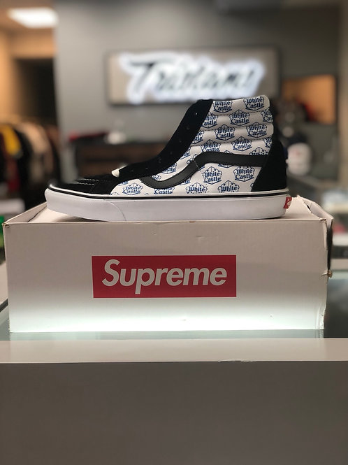 Supreme x White Castle Vans