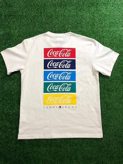 D/S Coca-Cola x Tommy Hilfiger tee