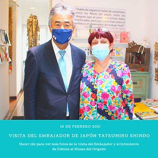 Visita del Embajador de Japón Tatsuhiro