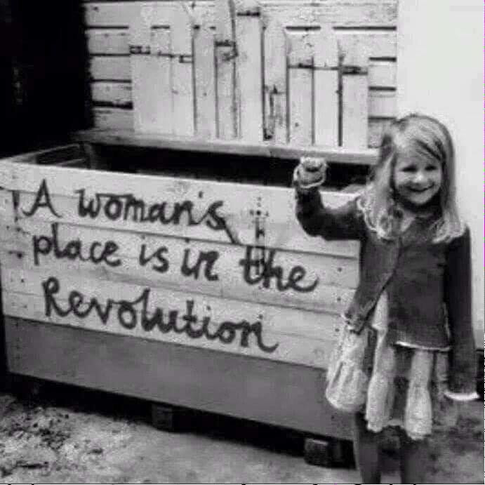 A womans place is in the revolution