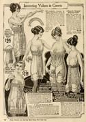 vintage corset advert