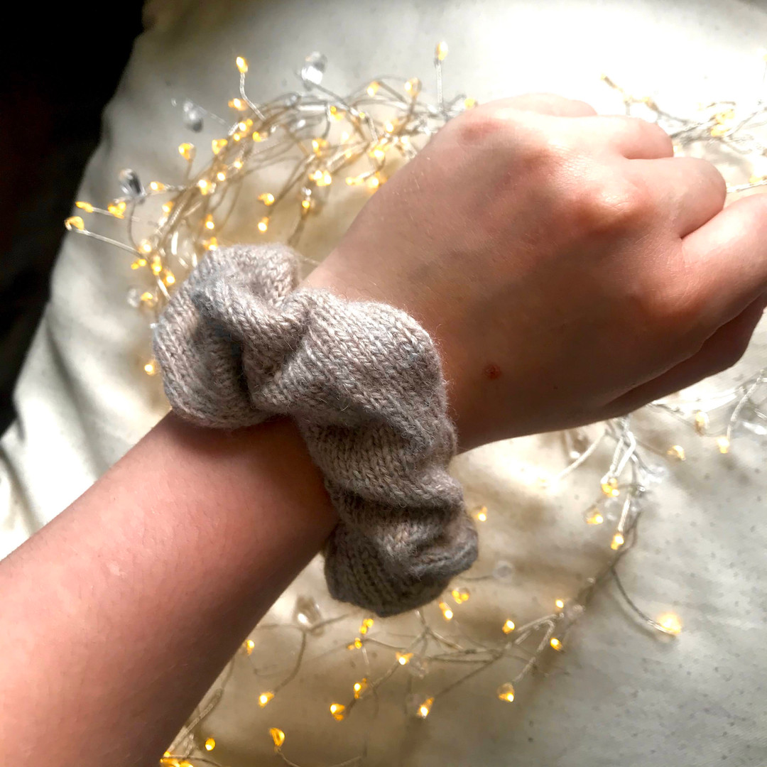 knitted Scrunchies!