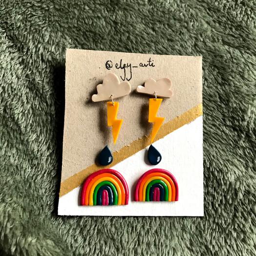 Custom sets of earrings!