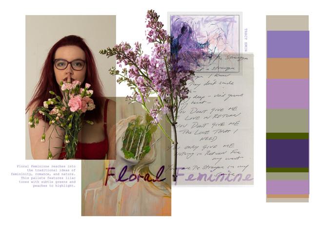 colour board 2: Floral Feminine