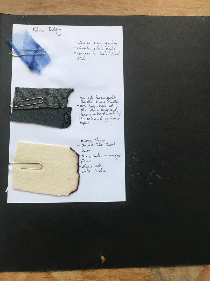 fabric identification