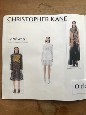 Christopher kane contextual research
