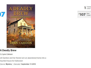 A Deadly Brew is today's Kindle Daily Deal