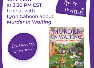 Murder in Waiting is arriving at the end of the month