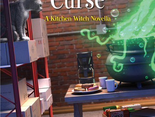 Cover reveal - Chili Cauldron Curse