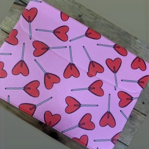 Candy Hearts Laptop Sleeve