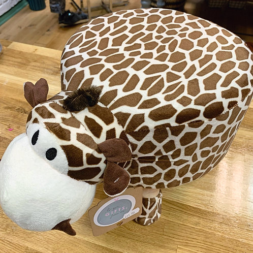 Giraffe footstool