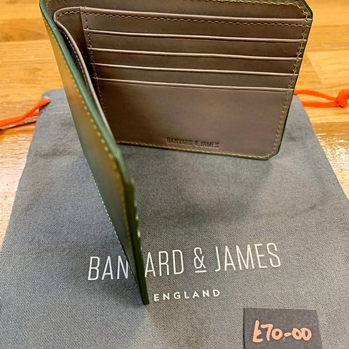 Leather Wallet by Barnvard & James