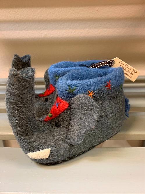 Sew Heart Felt Jumbo the Elephant Children's slippers