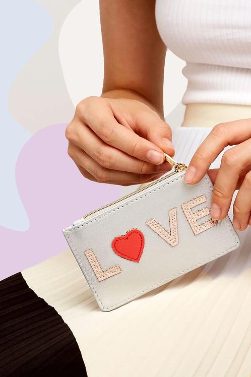 Estella Bartlett - Love Applique Card Purse