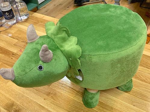 Green Dinosaur footstool
