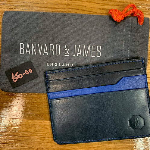 Leather Credit Card Holder by Barnvard & James